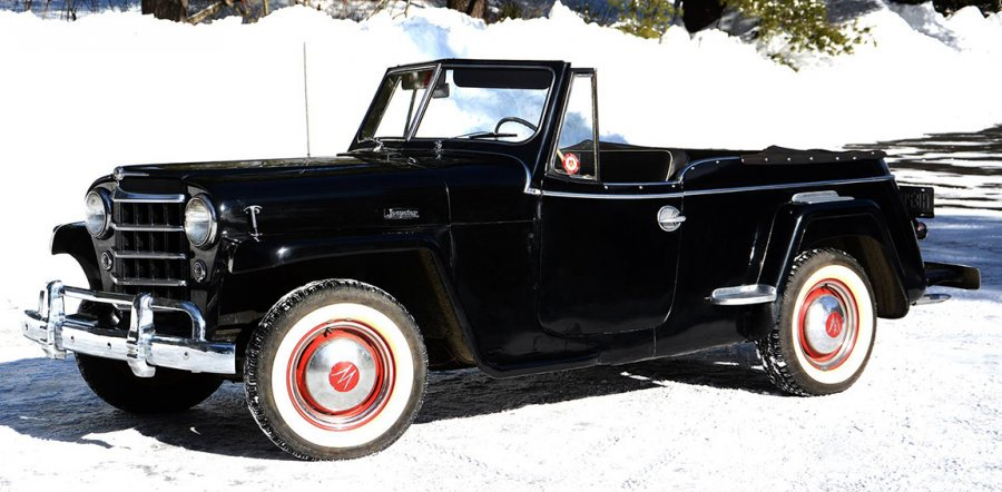 Maine Antique Digest On Twitter Stylish Willys Overland Jeepster