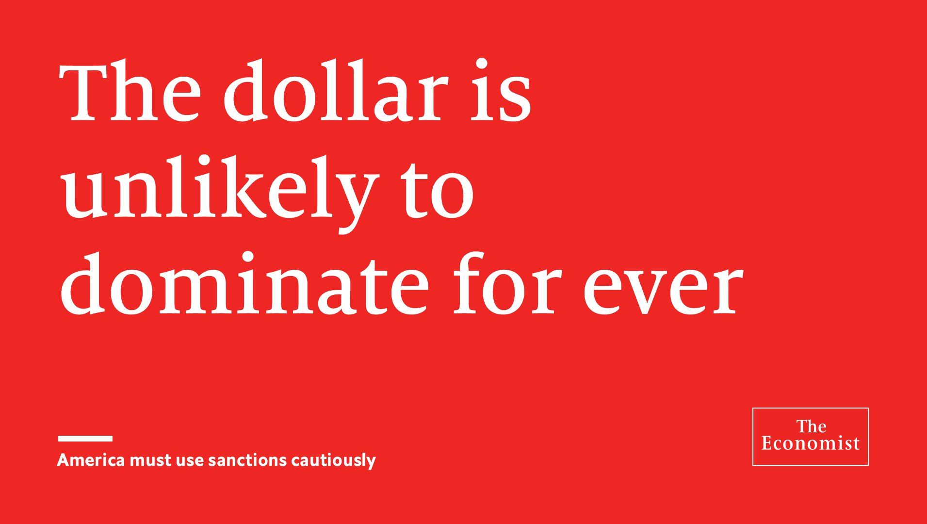 Using the dollar as a bludgeon has already led to capricious and arbitrary decision-making https://t.co/YZl9IvnlkA https://t.co/X9N7KowbKw