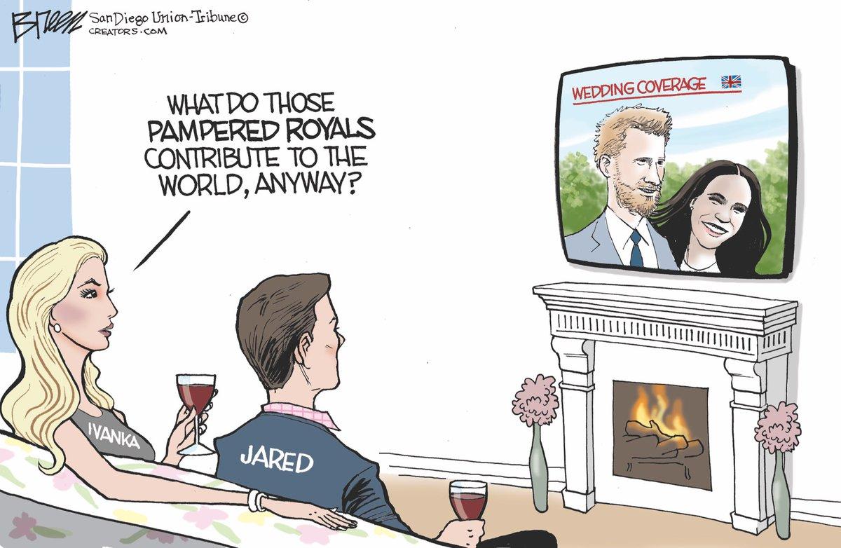#RoyalWedding #JaredKushner #IvankaTrump #PrinceHarry #MeganMarkle