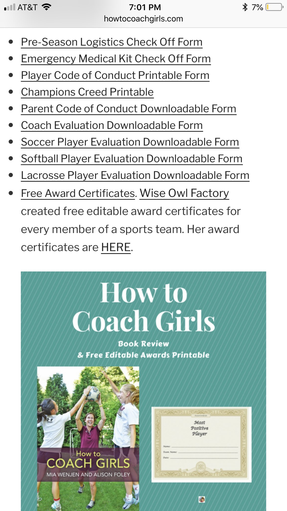 HowToCoachGirls On Twitter Free Stuff For Coaches Coach