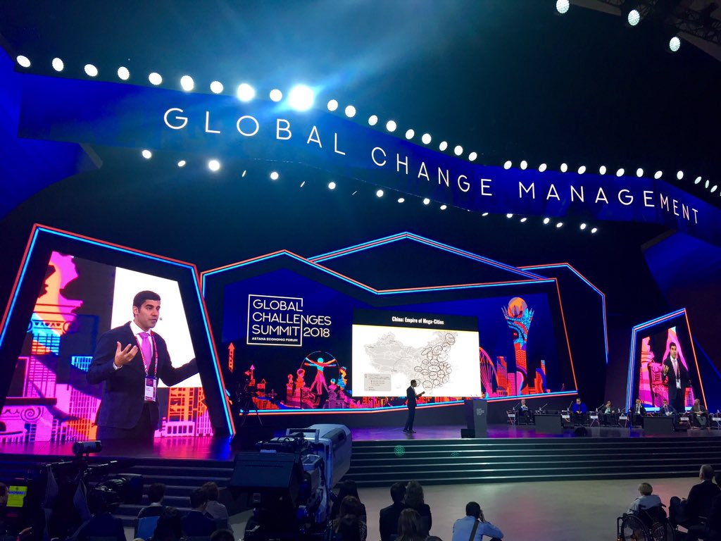 .@paragkhanna at #AEF2018 @Forum_Astana speaking on #connectivity and cities that drive the global network civilization #GSSummit #GlobalChallengesSummit2018 #AstanaEconomicForum <br>http://pic.twitter.com/P3AeJYHUjG