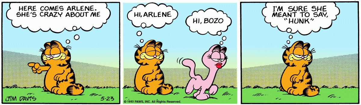 I dont see @Garfield in pop culture enough anymore. Time to start bringing it back. These books were my favorite books as a kid. #HiBozo #Hunk
