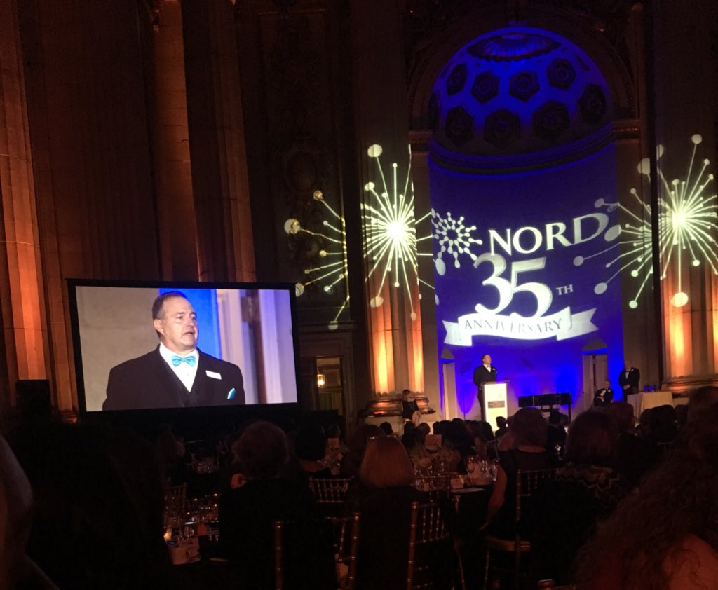 """There is no stronger force in the universe than the parent of a child with a #raredisease."" -Derek Gavin, Director of Development at #NORD #RareImpact<br>http://pic.twitter.com/0kUcFQCsET"