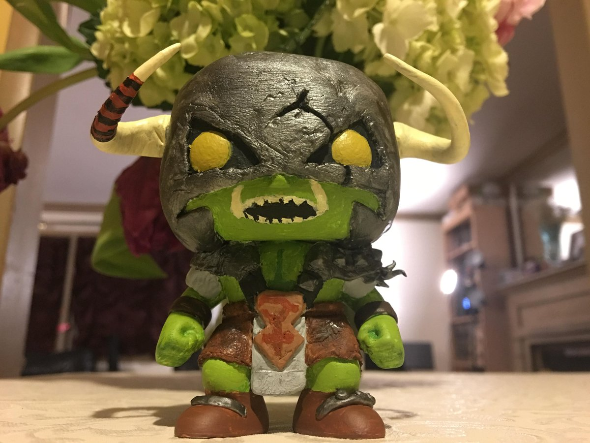 Runescape On Twitter Look At This Awesome Custom General Graardor Funko Pop We Totally Need This In Our Lives Credit Zoodlezuz On Reddit Https T Co Lmorvmavgh