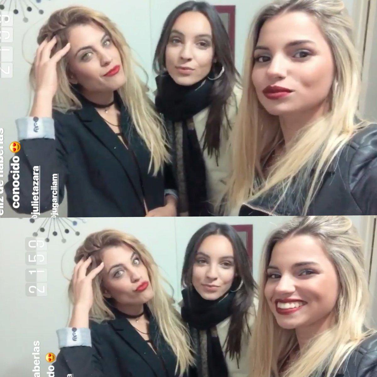 Se Van A Romper La Noche Estas 3 Genias Las Amamos!!😻👏 @Daianaquiroz_ @JulietazaraOk ❤