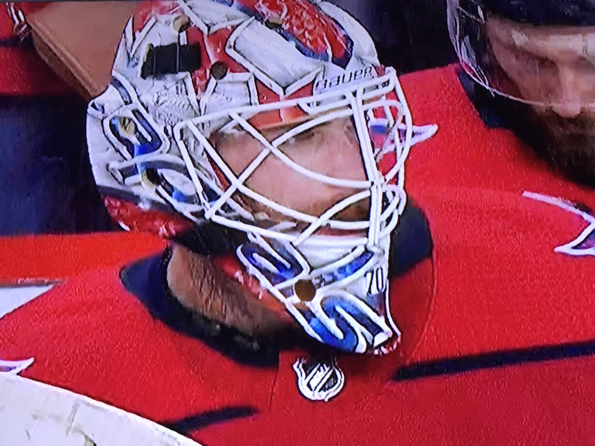 Goalie Gear Nerd On Twitter Adding Insult To Injury Holtby S