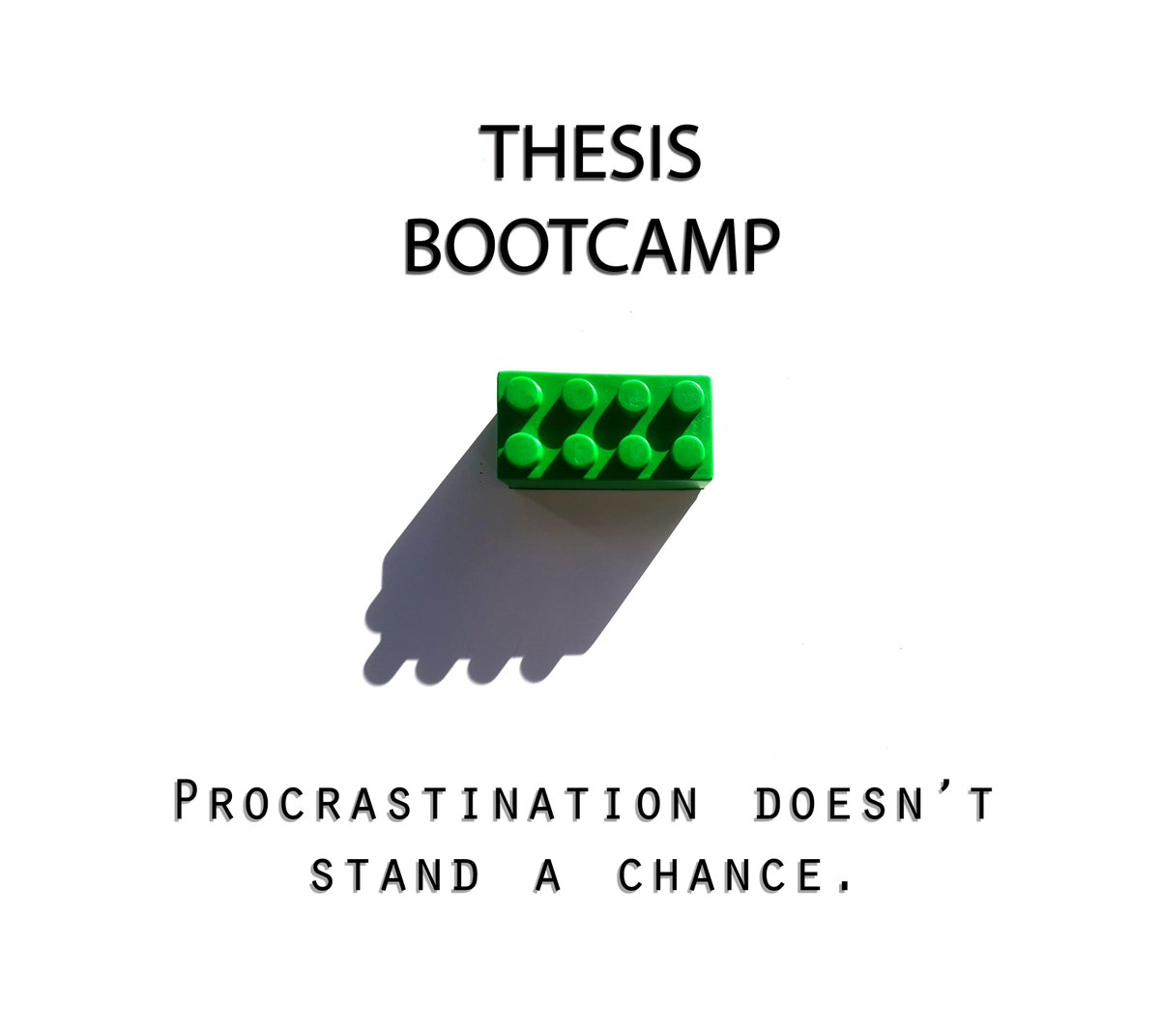 thesis boot camp unimelb