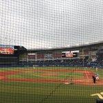 Image for the Tweet beginning: いい席です!野球観戦何年ぶりかなぁ(≧∀≦)