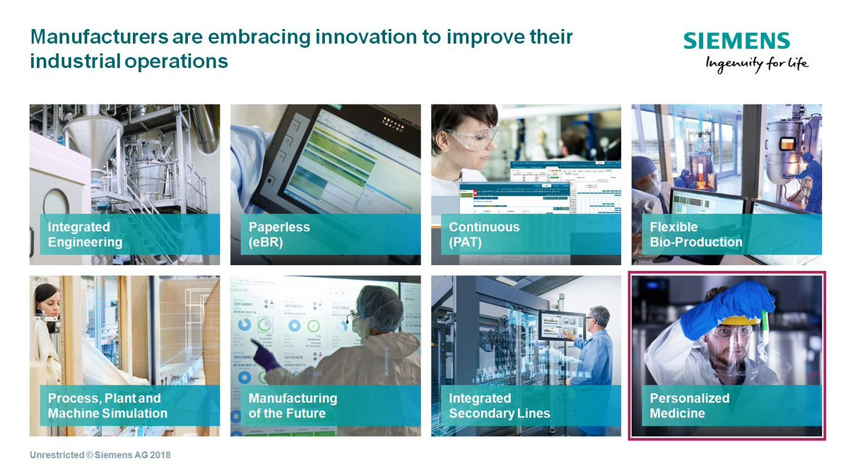 Manufacturers are embracing #innovation to improve their industrial operations. @Siemens  @Siemens_Austria via @antgrasso #IoT #IIoT #Manufacturing #HealthTech #UnlockThePotential #DigitalTransformation<br>http://pic.twitter.com/ALJ8NyALst