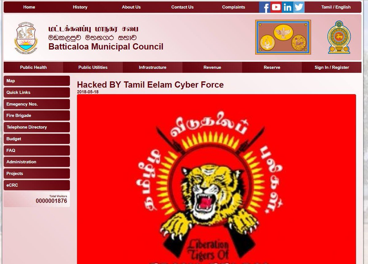 Image result for Tamil Eelam Cyber Force