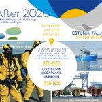 Rescue operations require #cooperation between different authorities, and at sea often between different countries. Our demo shows this in action. Come and see how our heroes - fire fighters, divers and guardians - do their work! 5 June in Tallinn! #SAR #interreg #maritimesafety