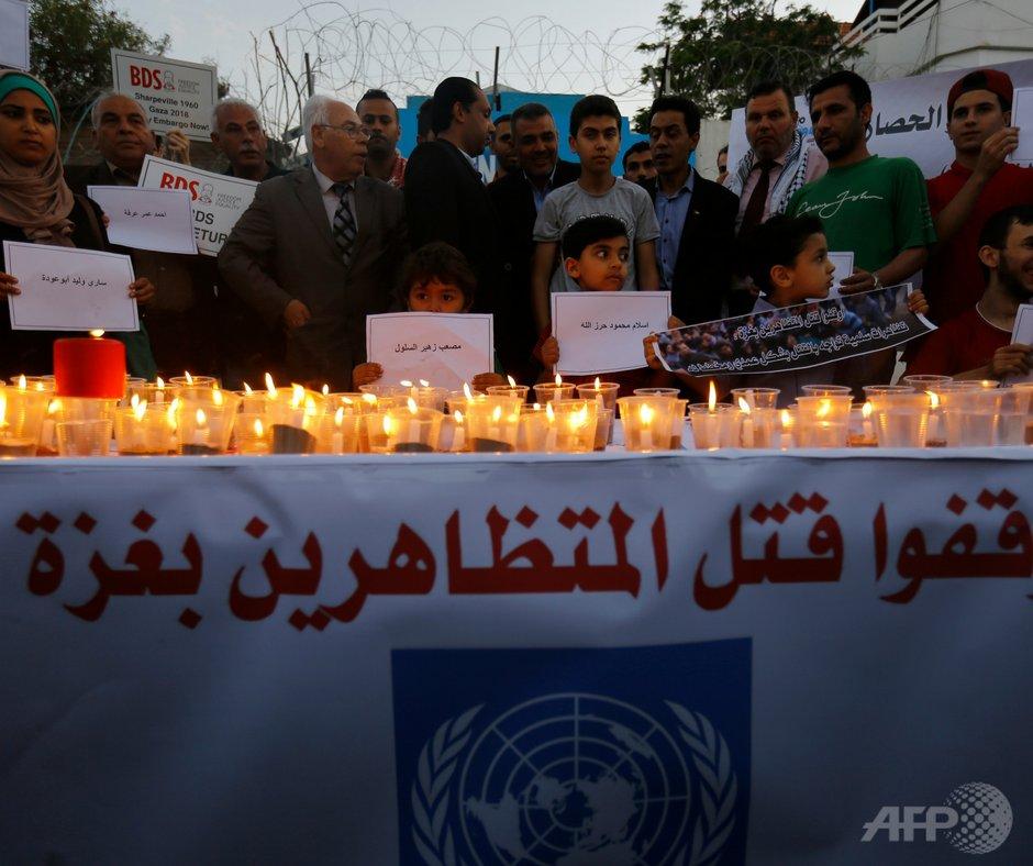 وقد دعا الأحداث المروعة الأخيرة في #غزة إلى جلسة خاصة في مجلس حقوق الانسان.  المفوض السامي زيد رعد الحسين سلم خطاب الافتتاح. اقرأ: http://bit.ly/2Gx7zHW  اتبع ...