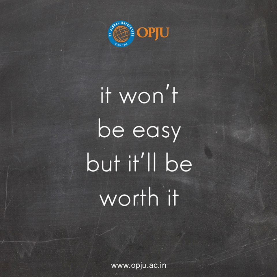 Reaching your goal will never be easy. Stay focused and together we will achieve your dream.  #OPJU #OPJUQuotes #FridayInspiration #QuoteoftheDay #Quotes Raigarh<br>http://pic.twitter.com/H0yZx5TcEG