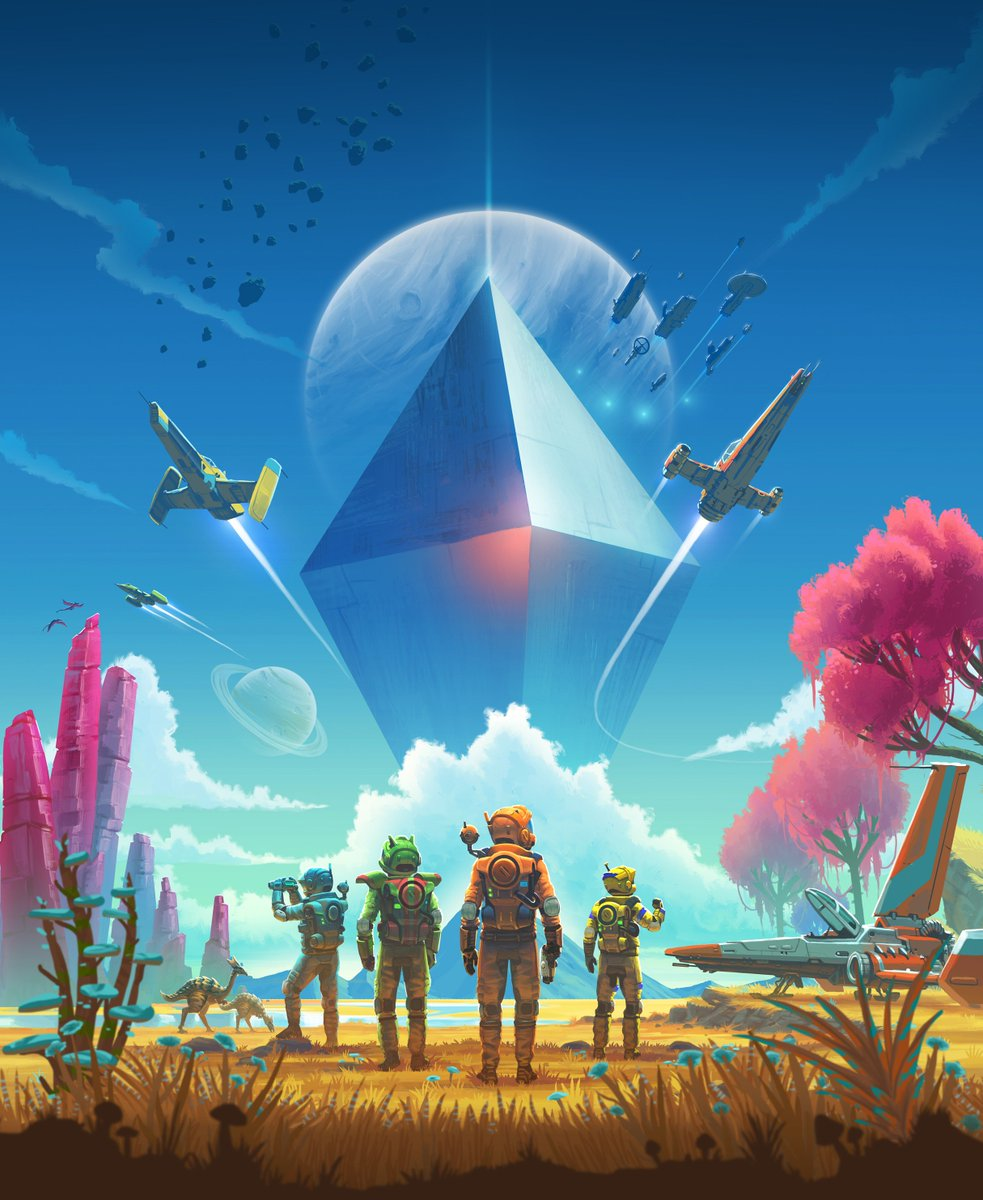Play No Man's Sky with your friends online July 24th  A free