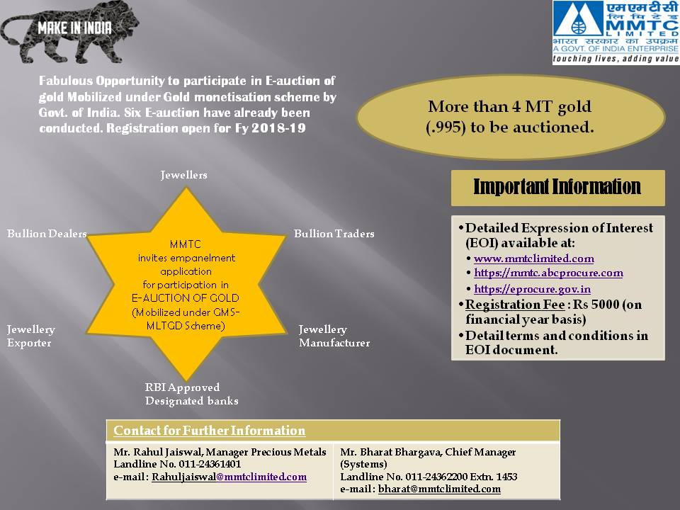 MMTC Limited on Twitter: