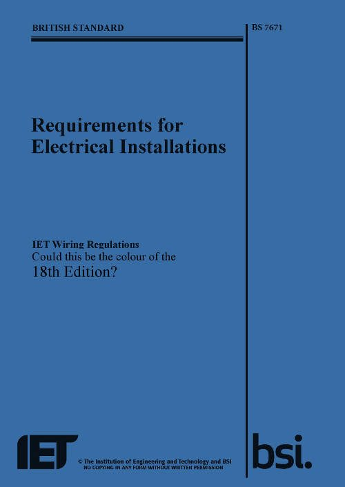 logic4training on twitter the 18th edition wiring regulations rh twitter com bs7671 wiring regulations 2008 pdf bs7671 wiring regulations book