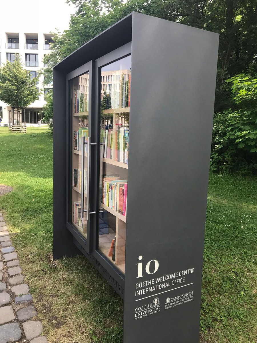 Its Not Your Usual Bookshelf However Goethes Book Xchange Is For Non German Books Only English And All Other Languages Are Welcome