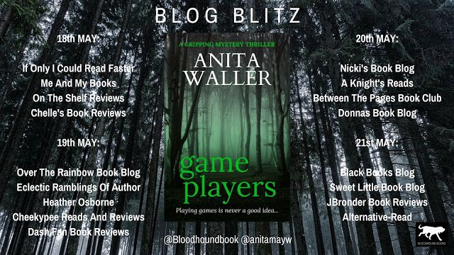 Today I am kicking off Game Players by Anita Waller #BlogBlitz  with a fab #GuestPost  https:// buff.ly/2Gqzfhv  &nbsp;   @anitamayw @Bloodhoundbook<br>http://pic.twitter.com/oiD5JgcDKR