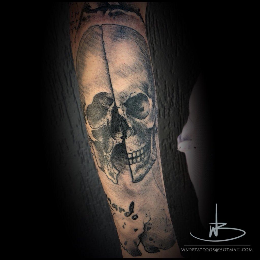 Wade Barry در توییتر Brisbanebroncos Broncos Grimreaper Sythe Theskull Leonardodevinci Leonardo Quill Feather Steampunk Hrgiger Tattoo Tattoos Tattooed Tattooing Tattooartist Tattooer Tattooist Ink Inked Wadetattoos Https T Co