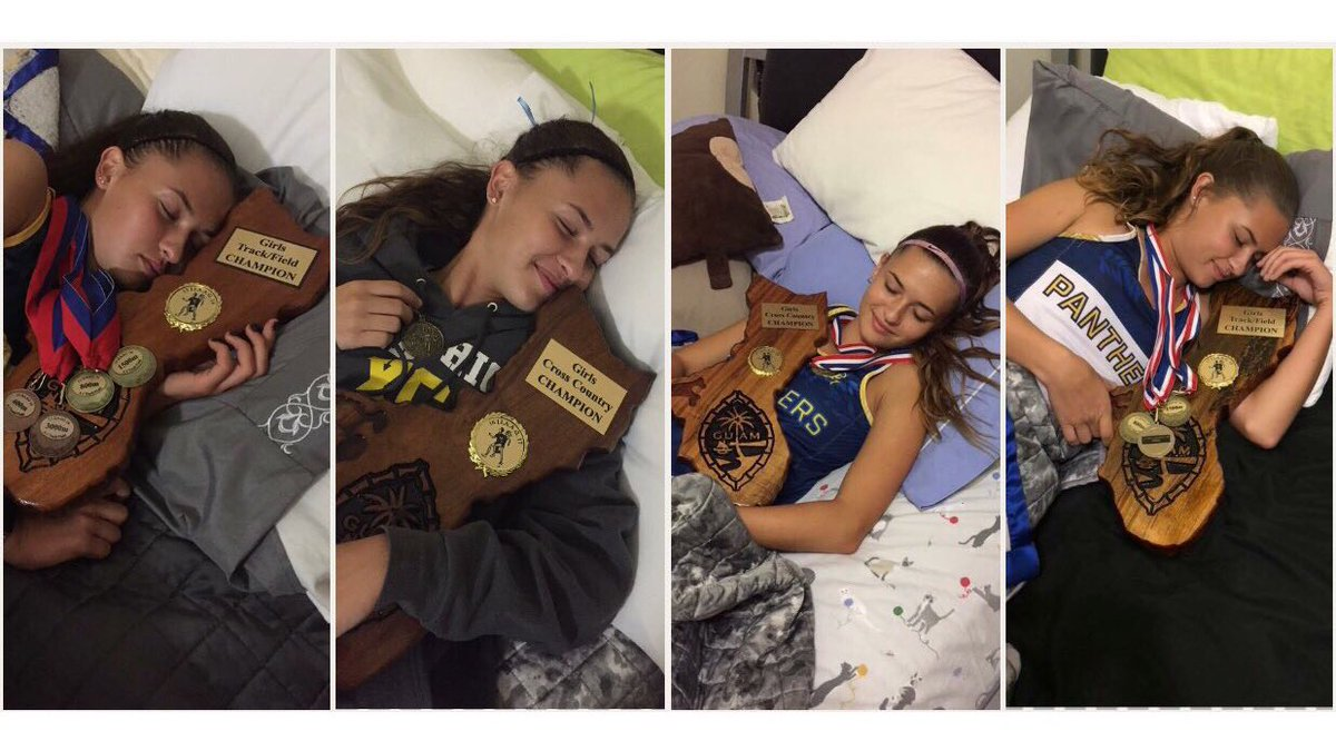 I couldn't be happier to say that I ended high school with 4 championships! 💙💛✨