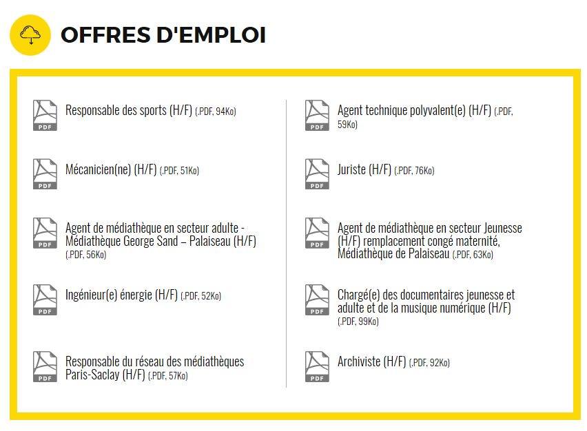 L'agglo #recrute son ou sa responsable des sports (H/F) 🎯 #Emploi #Orsay #ParisSaclay #Essonne #CollTerr Retrouvez l'ensemble de nos offres ici ➡️ parissaclay.co/l-agglo-recrute https://t.co/HHvjsFPByg