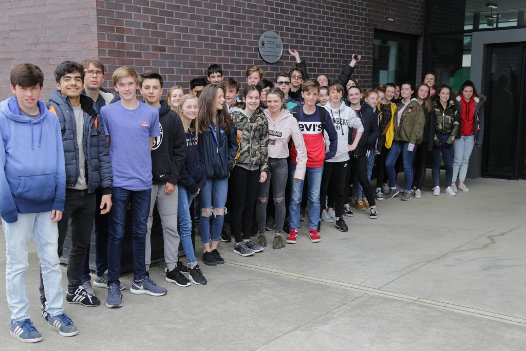 test Twitter Media - Congratulations to 9th and 8th class students who received their DELF exam results today. The average was an outstanding 80.2% for the A2 (9th class) and 77% for the A1 (8th class). Well done everyone! #delfexam #frenchexams @CianHogan2 https://t.co/2O0D8Ffb3q