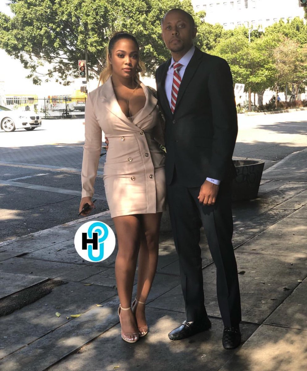 """50 Cent Video Porno robyn hood on twitter: """"teairra mari and her lawyer arriving"""