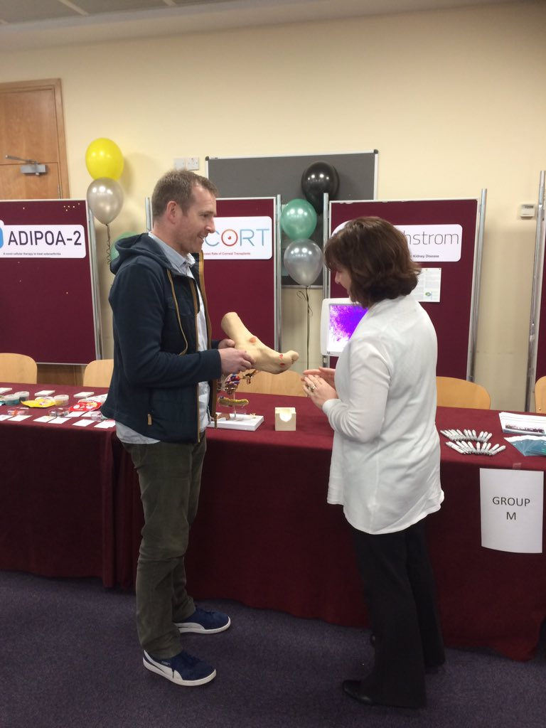 Cathal and Tina from @remedinuig discussing #diabetes,  # stem cell therapy and #clinical trials. <br>http://pic.twitter.com/PvabTGkFHr