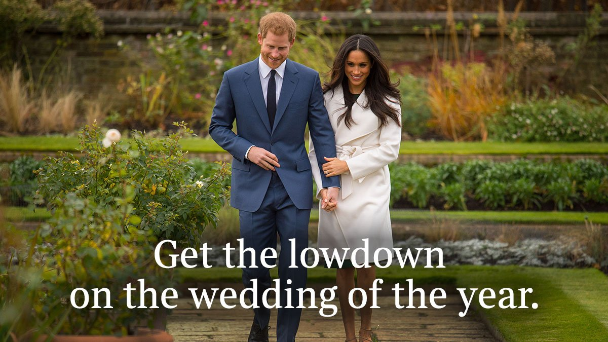 Subscribe today for access to our royal wedding coverage from just £1 a week for 8 weeks https://t.co/GWU9VhN1SV https://t.co/3i560plrpP