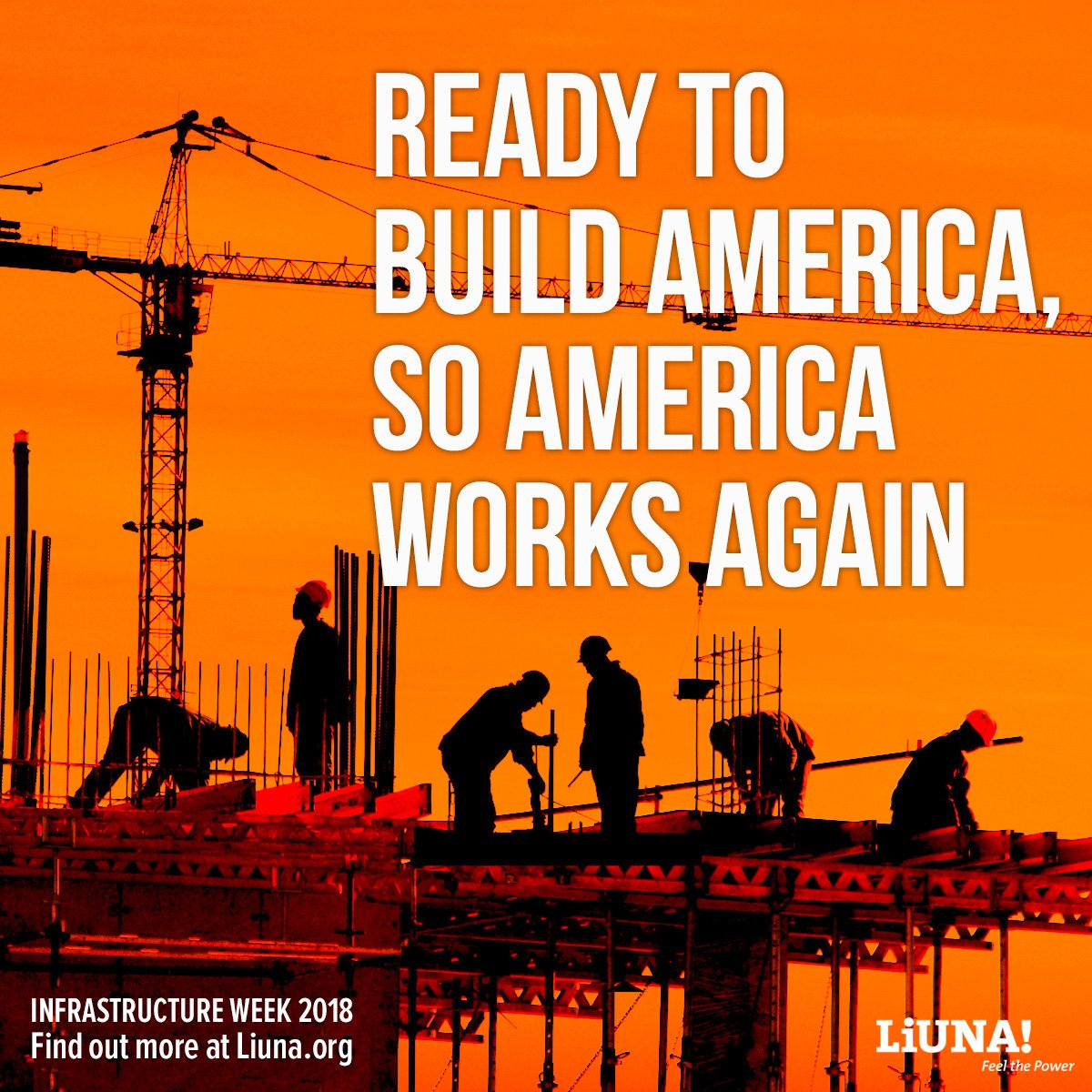liuna on twitter tell congress it is time to build america s