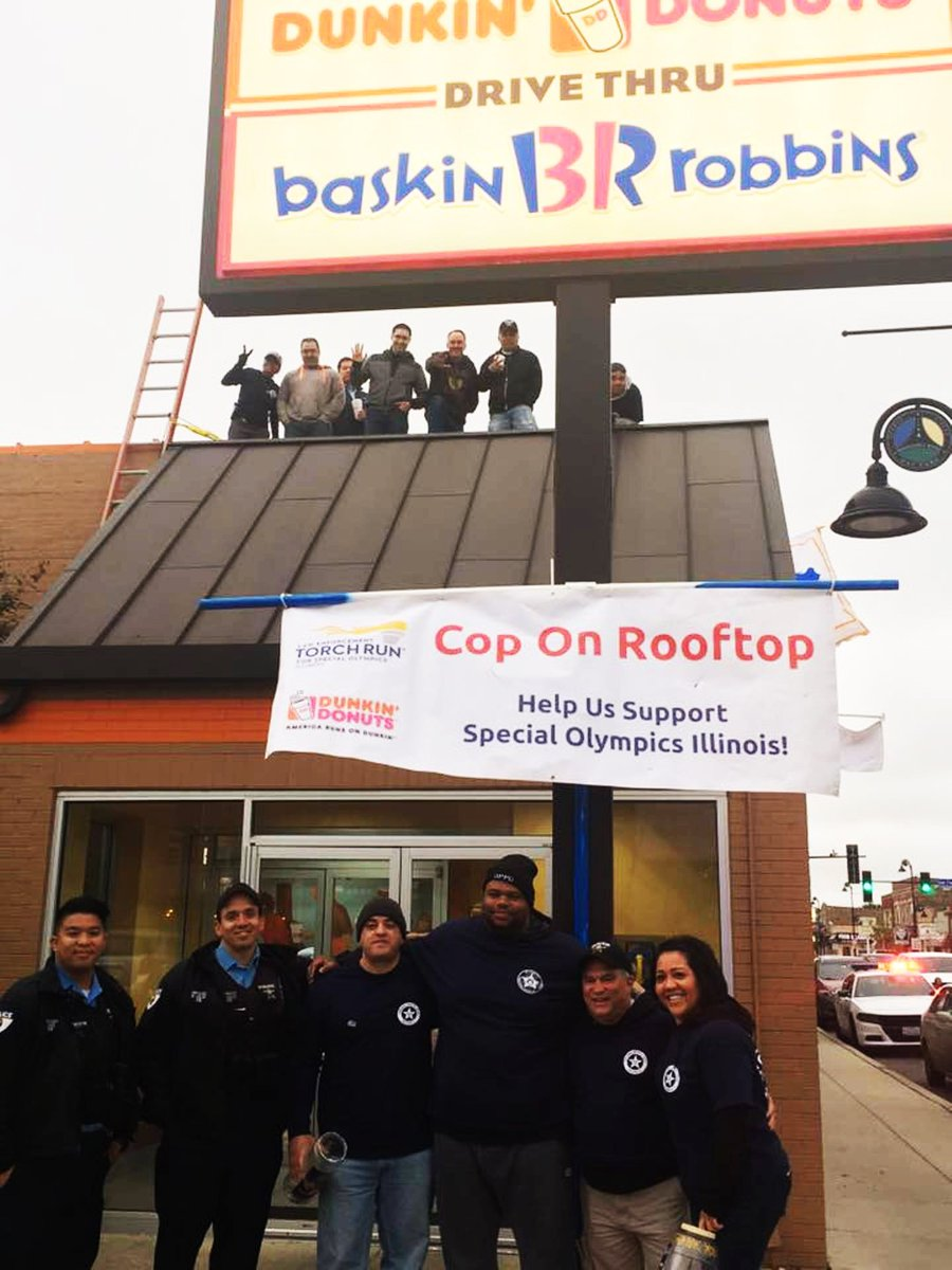 Oak Park Police Department On Twitter Reminder Today Is The Day For The Statewide Cop On A Rooftop Event Stop By The Dunkin Donuts At 6820 W Roosevelt Rd Anytime Today Before