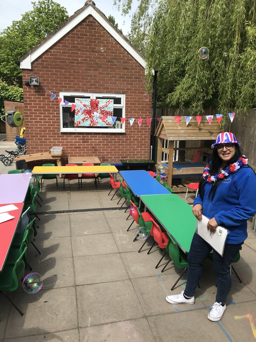 Abc Nursery Coventry On Twitter Setting Up For Our Royal Wedding Celebration Lunch