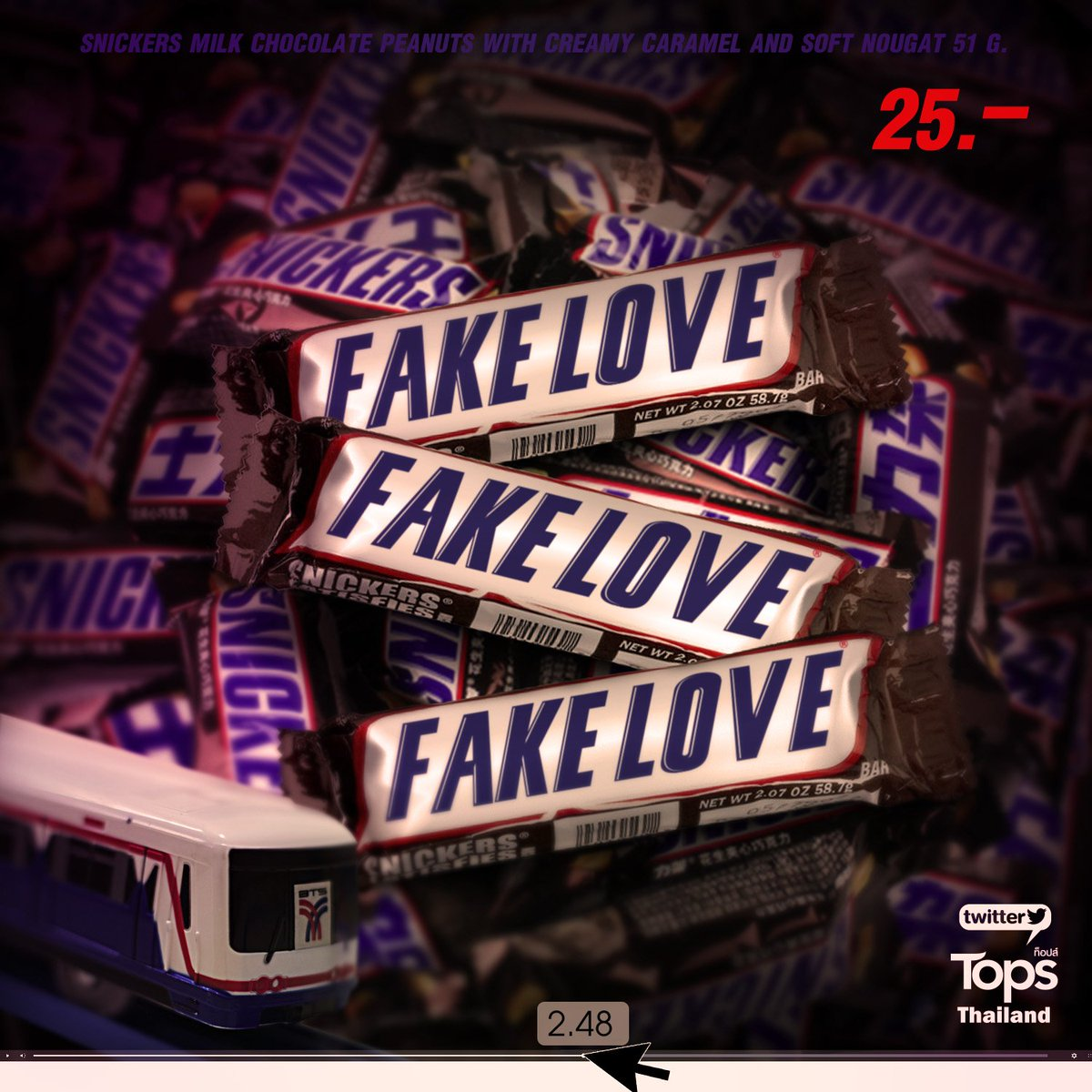 Tops Thailand's photo on #fake_love