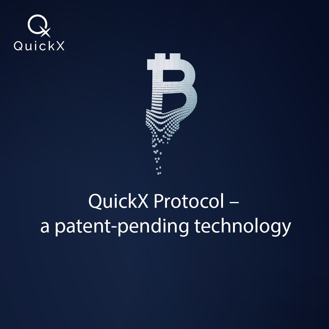 Quickx Protocol On Twitter Quickxprotocol A Patent Pending