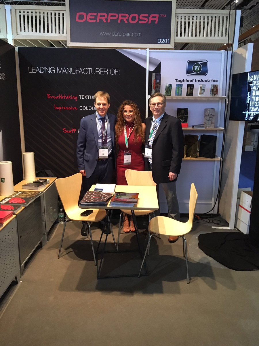 Luxury packaging is alive and well, as we have witnessed at @LUXEPACK_SHOW New York the last two days! If you would like to know more about our @DerprosaFilm films and how they can take your packaging to the next level, head over to the website! ow.ly/8ywI30k3MAV
