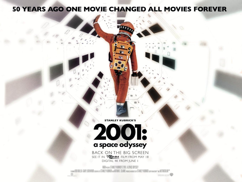 Reloaded twaddle – RT @WarnerBrosUK: 50 years ago, @StanleyKubrick's masterful #2001ASpaceOdyssey w...
