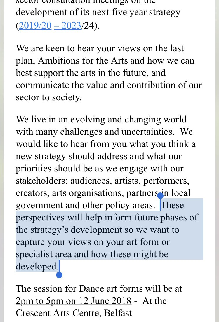 test Twitter Media - Fascinating that @ArtsCouncilNI have sent annually funded organisations an invite to discuss future strategy yet have recently made decisions to cut AFP organisations & restrict funding allocation therefore impacting on artistic practice WITHOUT prior discussions 🤔 #ArtsMatterNI https://t.co/20WFohfzKH