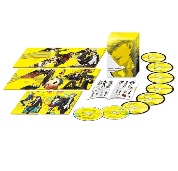 Persona4 the ANIMATION Series Complete Blu-ray Disc BOX(完全生産