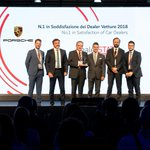 Siamo orgogliosi di comunicare che Porsche Italia si conferma al vertice della classifica #DealerSTAT 2018 per il secondo anno consecutivo. #ADD18 #Porsche #SportscarTogether