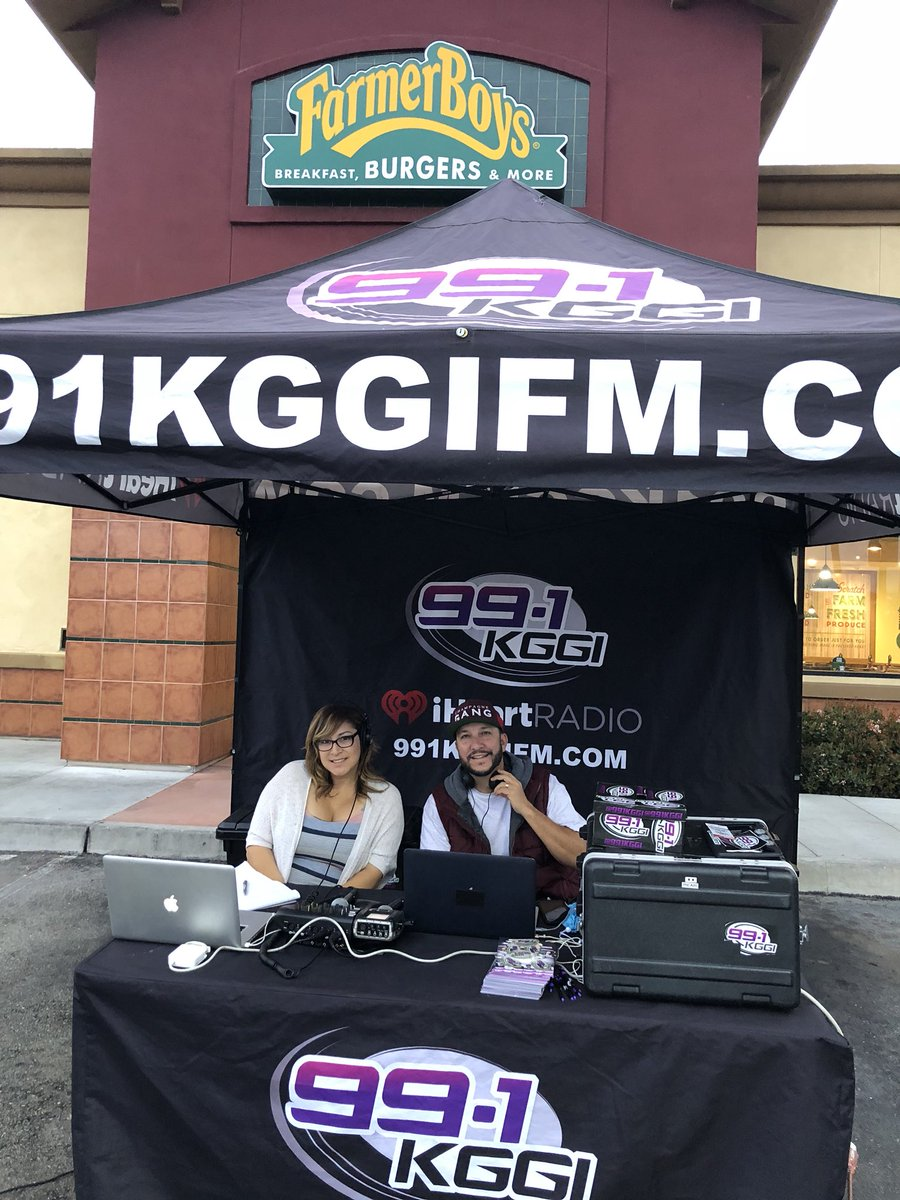 991 KGGI On Twitter ODM And Evelyn Are Broadcasting Live At