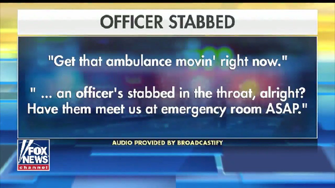 Veteran Connecticut police officer fighting for her life after being stabbed in the neck https://t.co/e8CIiOwQbJ