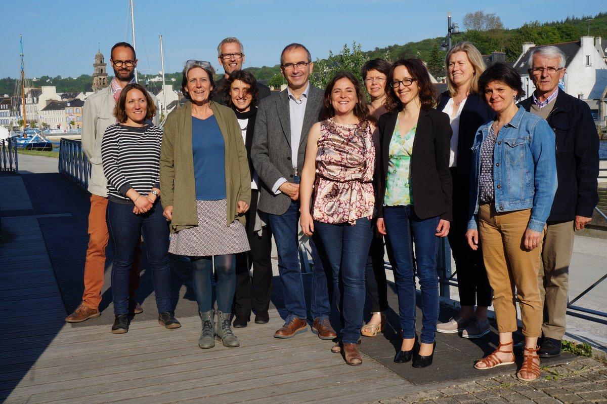 Conférence débat sur les #perturbateurs #endocriniens hier soir au Family à #Landerneau. Un grand merci aux organisateurs et aux intervenants!