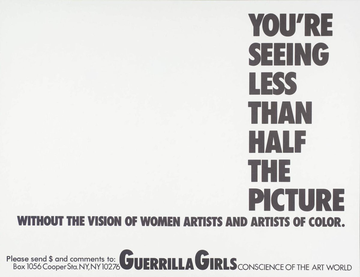 Womensart womensart1 twitter of the major us museums criticized for giving zero solo exhibitions to women in 1985 each gave only one solo show to female artists in 2016 womensart fandeluxe Gallery