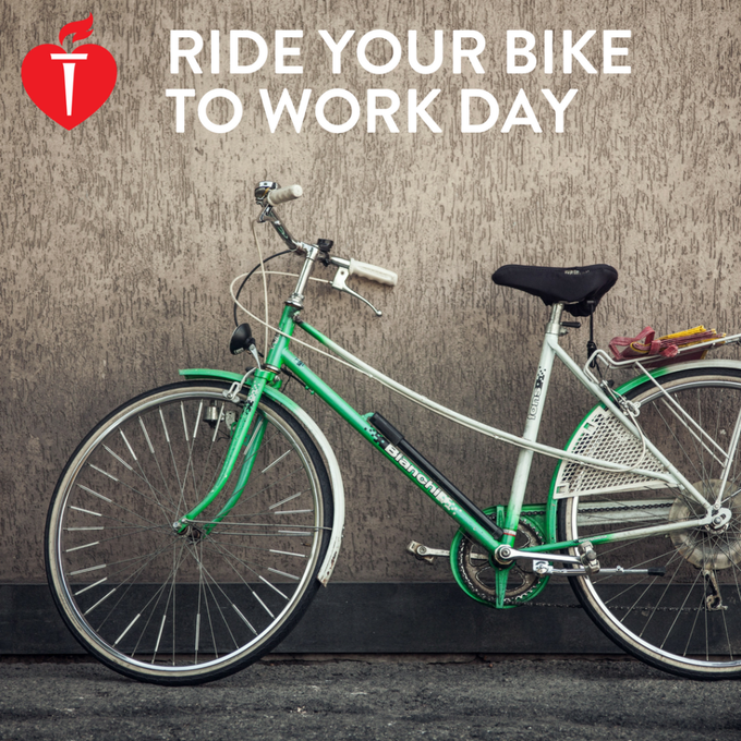 #biketoworkday Photo