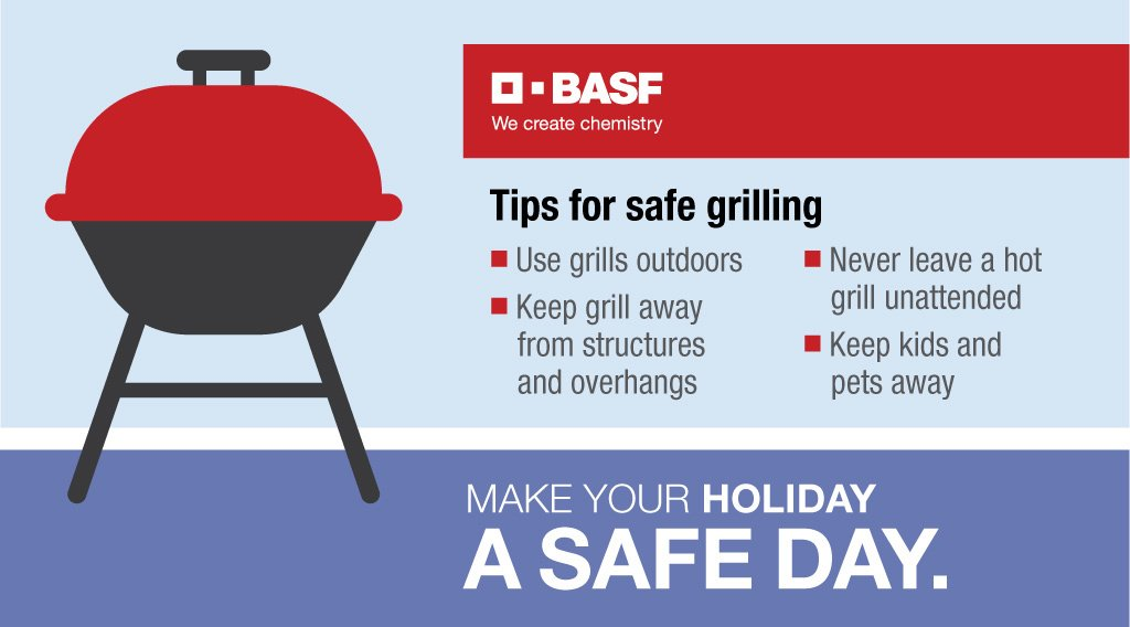 Don't let an accident make your summer cookout memorable for all the wrong  reasons. Use extra care when grilling to make your summer day a safe day.
