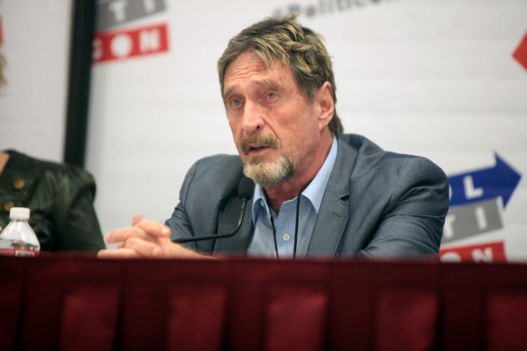 John McAfee: I Haven't Filed a Tax Return in 8 Years... Taxation is illegal. Ddf0KPLV0AESWgn