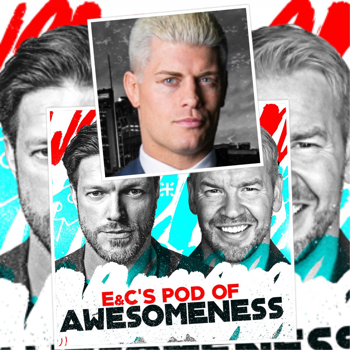 Now on @EandCPod after sitting in the dugout for a few months @CodyRhodes finally joins us. We talk the success of #AllIn & how it came to be. It's a great talk w/ a smart, funny and well spoken guy + I find a way to indirectly put myself over(it's a gift) itunes.apple.com/us/podcast/e-c…