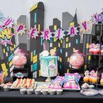 """14 Likes, 2 Comments - A Glam Good Time (@aglamgoodtime) on Instagram: """"Let's keep the Superhero theme going! Did you know that all the parties we style are for women and…"""" This fantastic party idea was featured today on https://t.co/2n0L40LUCS! #partyideas #party #birthdaypar…"""