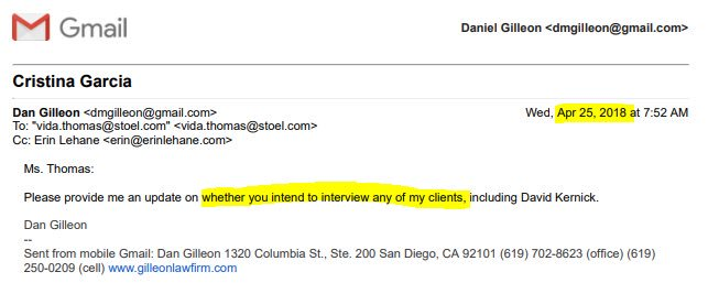 Sexual san lawyer diego harassment