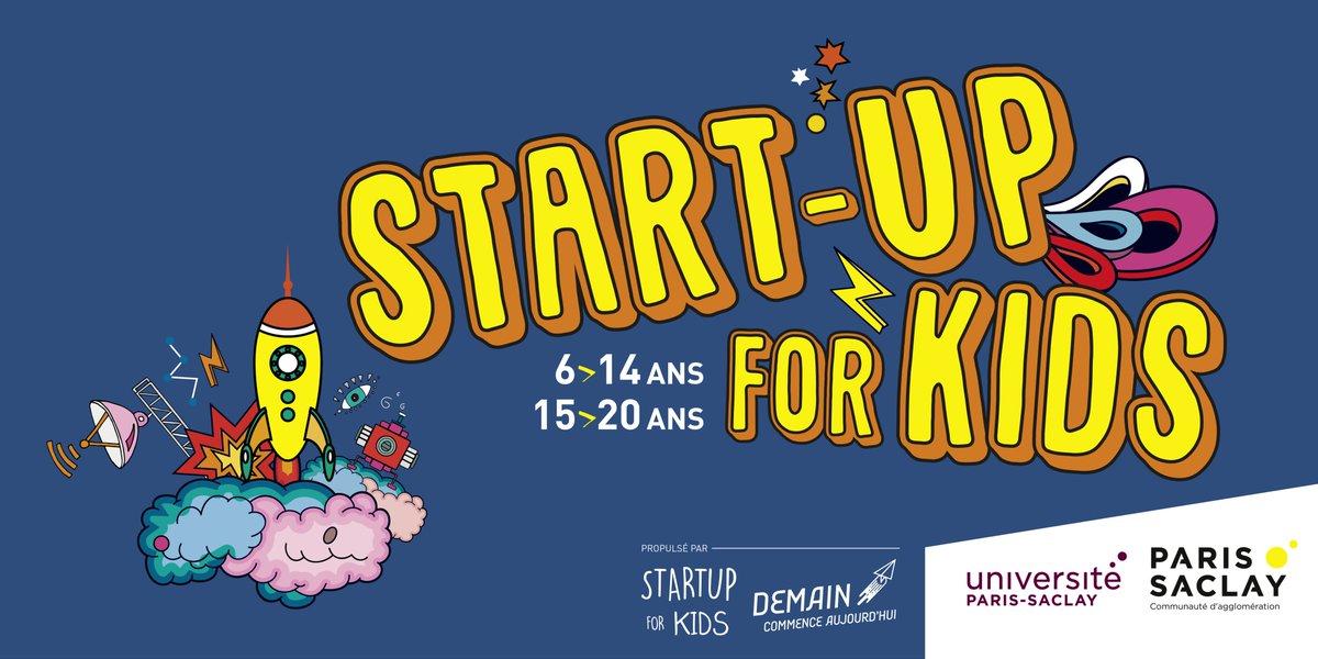 #StartUpForKids #ParisSaclay commence dans une semaine ! 🚀📆 Ne ratez pas cet événement éducatif et décontracté les 26, 27 et 28 mai @centralesupelec #Sorties #Enfants #Ado #IDF #Essonne ➡️ parissaclay.co/StartUpForKids https://t.co/R43e9RQ5Qk